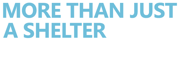 Text that reads: More than just a shelter. Youth Haven | Youth Haven Naples, FL