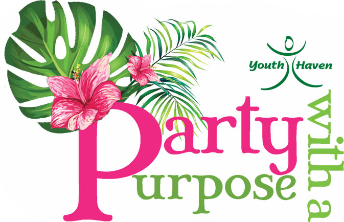 Youth Haven Annual Events Party with a Purpose Logo | Youth Haven SWFL